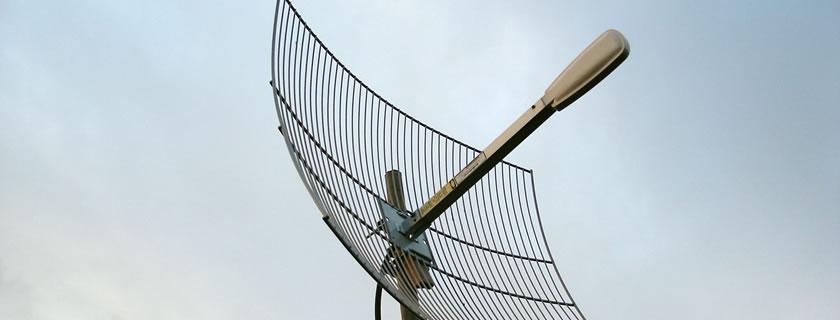 antenas en comunidades